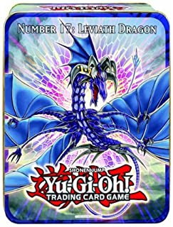 YuGiOh ZEXAL 2011 Wave 1 Holiday Tin Number 17 Leviath Dragon Includes 5 Packs Pot of Duality, Stygian Street Patrol, Beas...
