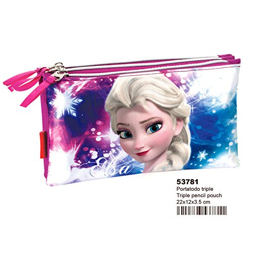Portatodo Frozen Disney Shining triple