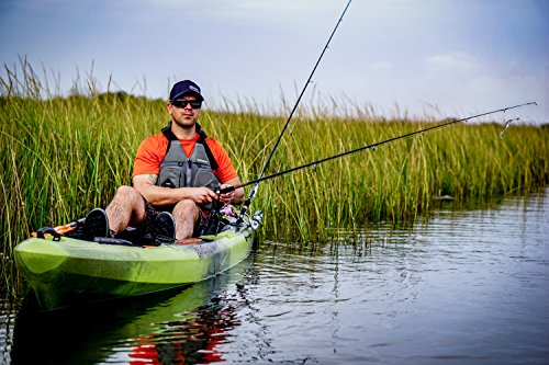 Perception Pescador Pro 10   Sit on Top Fishing Kayak with Adjustable...