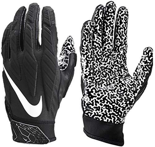Nike Men's Superbad 5.0 Receiver Gloves (Large, Black/White)