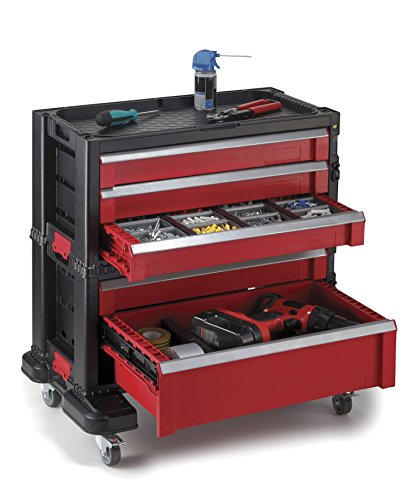 Keter 5-Drawer Tool Organizer Tool Chest
