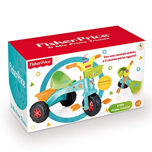 Grandi Giochi Fisher Price Primo Triciclo, GG01813, Multicolor