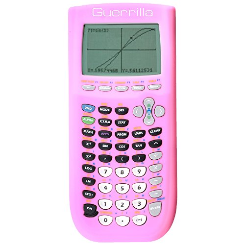 Guerrilla Silicone Case for Texas Instruments TI-84 Plus Graphing Calculator, Pink Photo #5