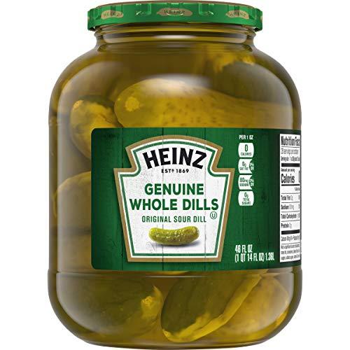 Heinz Genuine Whole Dill Pickles (46 oz Jar)