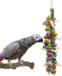 DealMux Speelgoed voor het kauwen van vogels, speelgoed voor papegaaien, speelgoed, accessoires 43 cm