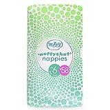 Mum & You Nappychat Eco-Windeln Gr. 6 (58 Stück). Bis zu 12 Stunden Trockenheit. Dermatologisch getestet diaper, ohne Chlor und Duftstoffe.