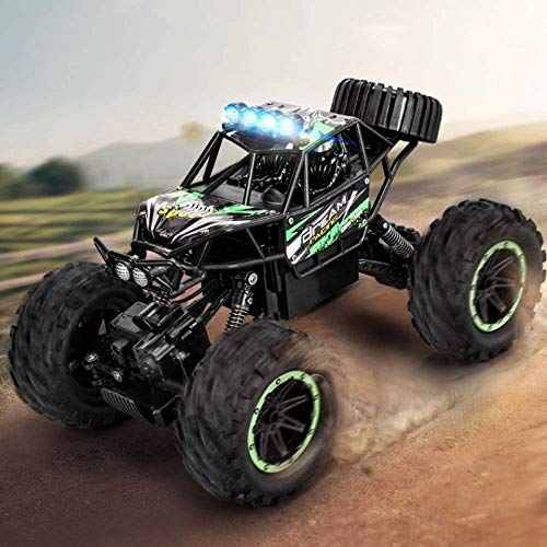 ZHANGL Remote Control Off Road Cars 1:14 Scale 2.4Ghz Radio 4WD Crawlers Off Road Vehicle Toy All Terrain Big Foot RC Racing Car Max Speed 25km/h Best Educational Toys for Adults Kids Gifts