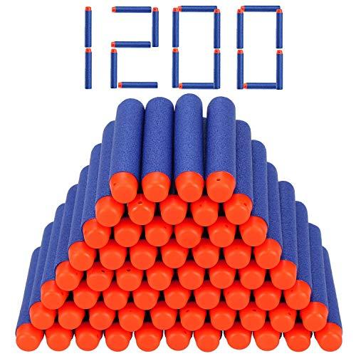 Stomping Ground Toys Proiettili Nerf | Compatibili con Tutte Le Pistole Giocattolo Nerf | 7.2cm Schiuma Freccette Ricariche Dardi Proiettili per Nerf