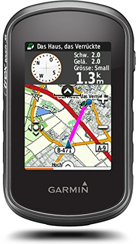 "Garmin eTrex Touch 35 - Navigator (160 x 240 pixels, 8 GB, 200 Routes, 10.000 points, 200 saved tracks, 2,6 TFT display ""of 65 000 colors)"