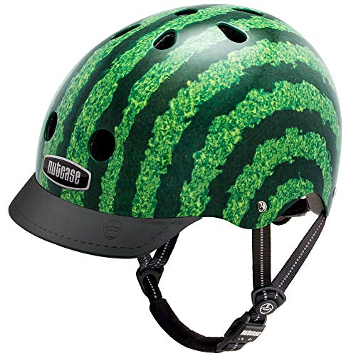 Nutcase Gemusterter Street Bike für Erwachsene, Mehrfarbig (Watermelon), M (56-60 cm)
