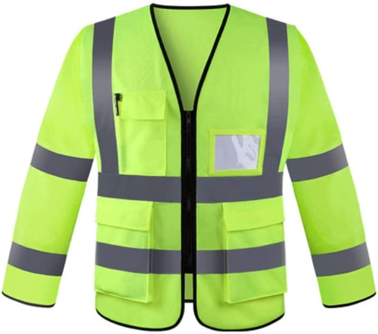 Agal Reflective Clothing Long-Sleeved Super-cheap Knitted Max 87% OFF Suit F