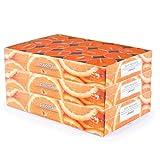 pajoma 90 velas de té perfumadas (3 x 30 unidades), varios aromas a elegir (naranja)