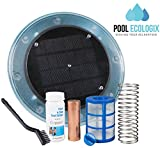 Pool Ecologix Solar Pool Ionizer | Floating Cleaner and Purifier with Copper...