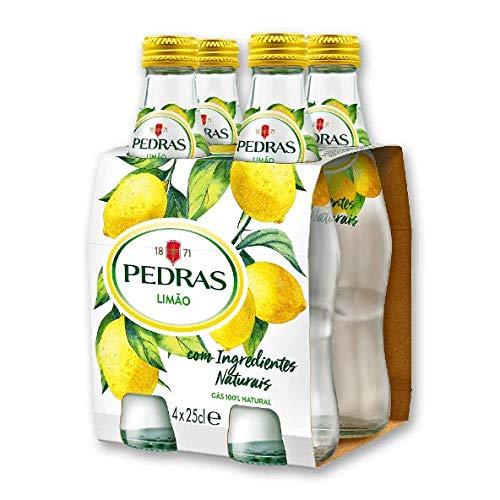 Agua Mineral con Gas sabor Limón pack 4x25cl