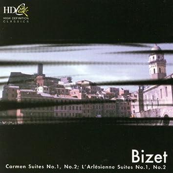 Bizet: Carmen, Suite No. 1, No. 2; L'Arlésienne, Suite No. 1, No. 2