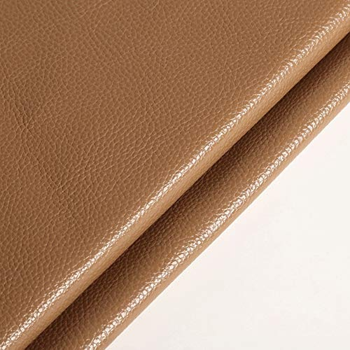 Polipiel Tela PU Tela de imitación Con textura de cuero graneado de imitación tela de cuero superficie de cuero suave del bolso Sofá de la tela artificial grueso del sofá de cuero PU material de la ro