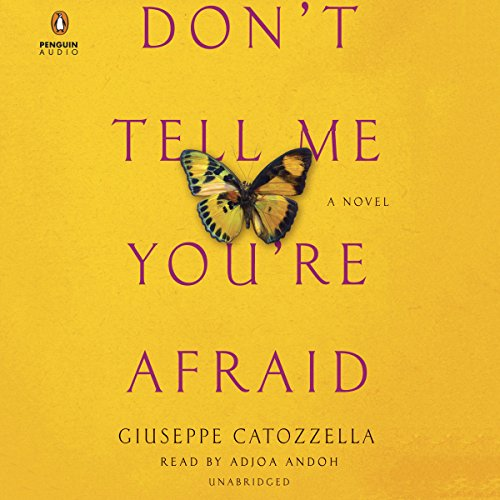 Don't Tell Me You're Afraid audiobook cover art