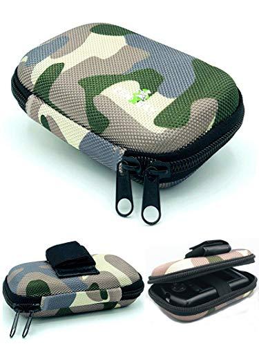 Tasche Hardcase für OmniPod, PDM Gürteltasche Blutzuckermessgerät, Diabetikertasche Camouflage Tarnfleck