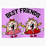 Female Ideas Best Candy Friendship For Baby Friends Toffette Friend Toddler Crush Tiffi Creative Home Decor Wall Art Poster