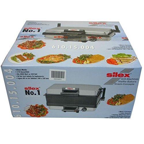 Silex 610.15.004 Multigrill, inox Silex Kasserolle (Zubehör Multigrill) Toaster, Edelstahl, Schwarz, 35 cm cm