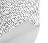 Strasssteine selbstklebend Klebefolie mit 4mm großen Strasssteinen silber Glitzersteine auf Folie