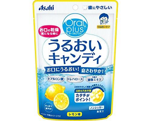 オーラルプラス うるおいキャンディ レモン味 57g 188878 (アサヒグループ食品) (食品・健康食品)
