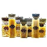 Multipack Pasta di Gragnano IGP - Calamarata, Paccheri Rigati, Fusilloni, Linguine, Spaghetti, Farfalloni, Cavatappi 500gr x 7