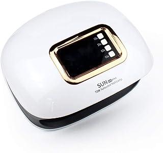 72W Lámpara de Uñas UV LED de Esmaltes de gel con Temporizador Para Uñas de gel y Toe Nail Curing Manicura/Pedicura,White