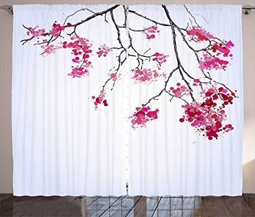 cortina japonesa fabricante Ambesonne