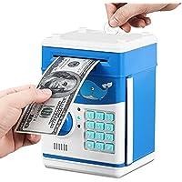 GOMYHOM Electronic Money Bank Money Safe for Kids Piggy Bank Money Saving Box with Password Lock