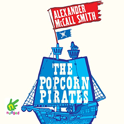 The Popcorn Pirates audiobook cover art