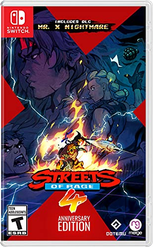 Streets of Rage 4 - Anniversary Edition - Nintendo Switch