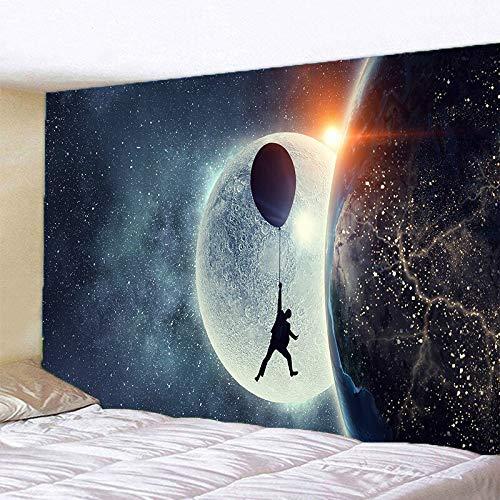 Alas bajo las estrellas tapiz tapiz colgante de pared arte de la pared dormitorio decoración de la ventana tapiz de pared tela de fondo a5 150x200cm