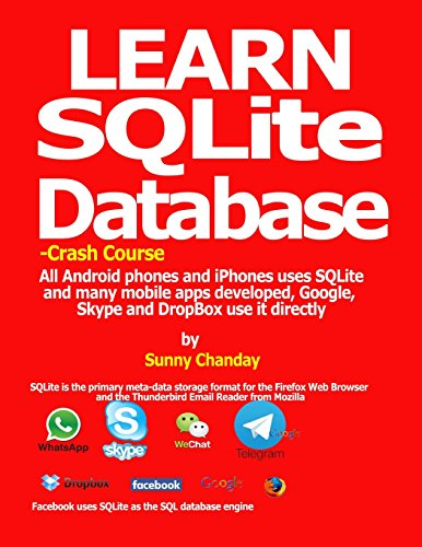 Learn SQLite Database - Crash course: All Android phones and iPhones uses SQLite and many mobile apps developed, Google, Skype and DropBox use it directly.