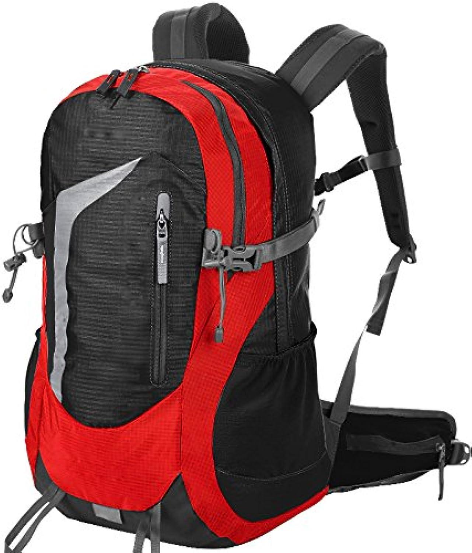 Robuster Rucksack- Reisetaschen Outdoor-Rucksäcke Wandern Rucksack Männer und Frauen können die Tasche mit großer Kapazität Bergsteigen Taschen -Mehrfarbig optional B07C7GDXVS  Gute Qualität