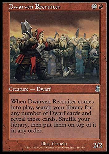 Magic The Gathering - Dwarven Recruiter - Odyssey