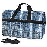 Geometrische Außenansicht des Gebäudes Große Reisetasche Reisetasche fürs Wochenende Reisetasche für die Nacht Sporttasche Fitness-Sporttasche mit Schuhfach