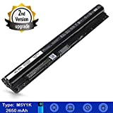 Inspiron Battery M5Y1K for Dell Laptop Inspiron 5558 5555 5755 5758 5759 5458 5551 3451 3452 3551 [2660mAh 40Wh 14.8V] Replacement Battery