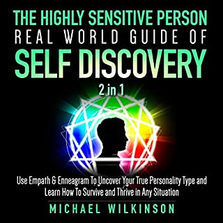 The Highly Sensitive Person Real World Guide of Self Discovery 2 in 1 audiobook cover art