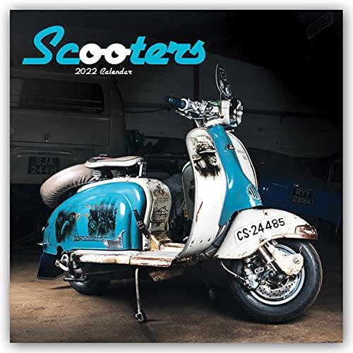 Scooters - Motorroller 2022: Original Carousel-Kalender
