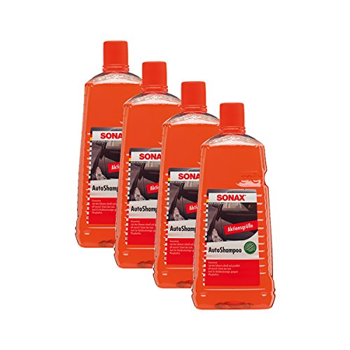 SONAX 4X 03145410 AutoShampoo Konzentrat pH-neutral 2L