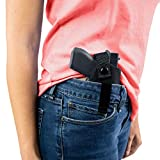 ComfortTac Gun Holster for Men & Women - Right-Handed, Extra Small (Size 1) Concealed Carry Holster - Wear Inside (IWB) or Outside (OWB) The Waistband - Gun Accessories