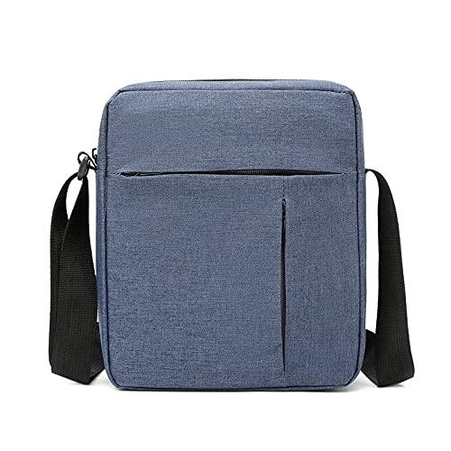 QIANJINGCQ, nuevo bolso diagonal de un solo hombro, bolso cuadrado pequeño, bolso de hombro de moda, bolso de hombro informal para hombres y mujeres, mochila