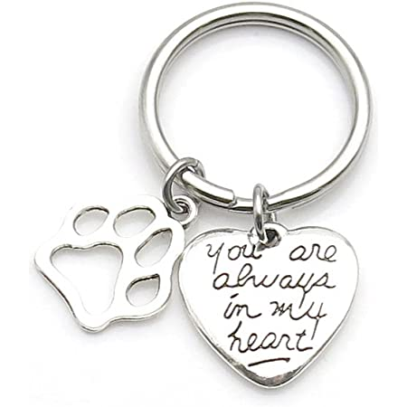 Your dog/'s photo on one side remembrance DOG MEMORIAL KEYCHAIN in loving memory dog memorial pet memorial gift in memory of