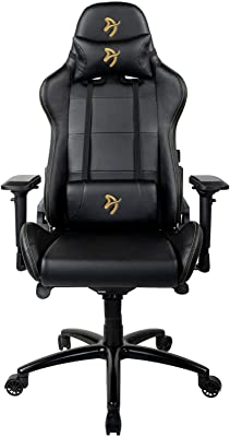 Arozzi Verona-SIG-PU-GD Computer Gaming/Office Chair, Gold