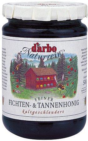 Darbo naturreiner Bienenhonig - Feiner Fichten- und Tannenhonig - 500 g