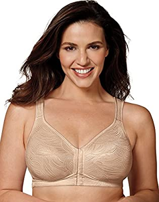 Playtex Womens 18 Hour Front Close Posture Bra, 38DD, Nude