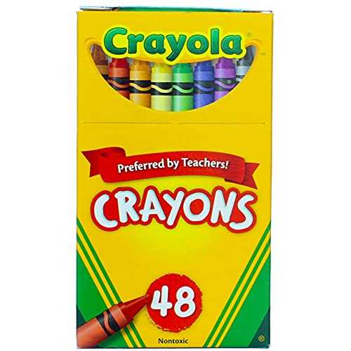 Crayola 52-0048 Crayons Assorted Colors 48 Count