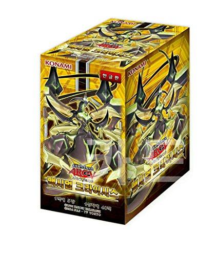 Pokemon Korea Yugioh Cards Maximum Crisis Booster Box(40 Pack)/ Korean Ver