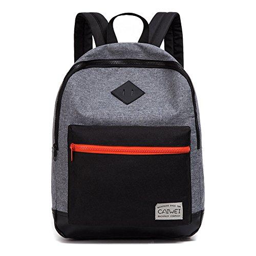 CAIWEI Vorschule Schultaschen, Dinosaurier-Flamingo-Muster Kinder Kinder Rucksäcke Leichte Schulter Rucksack Daypack für Jungen und Mädchen (black)
